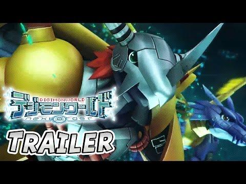 DIGIMON WORLD: NEXT ORDER Trailer (PSVita)