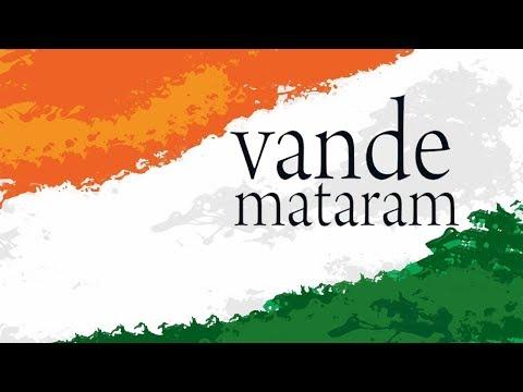 Vande Mataram Song | Instrumental With Lyrics | Independence Day 2017
