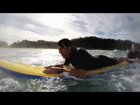 John Bishop learns to surf  John Bishop's Australia: Episode 2 P  BBC One