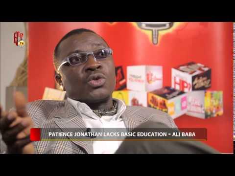 HIP TV NEWS - PATIENCE JONATHAN LACKS BASIC EDUCATION - ALI BABA (Nigerian Entertainment News)