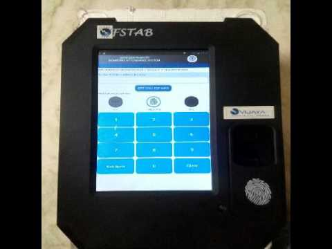 JNTU BAS attendance system Device with RFID and Fingerprint Android Platform Biometric