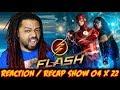 "The Flash Season 4 Episode 22 Reaction & Recap Show ""Think Fast"" (EP 4X22)"