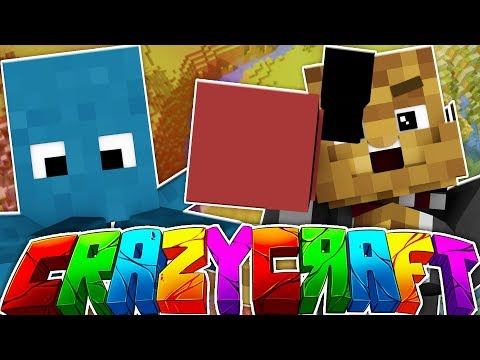 THE BEST MC PACK EVER!? - MINECRAFT'S OLDEST MOD PACK CRAZY CRAFT SURVIVAL #2