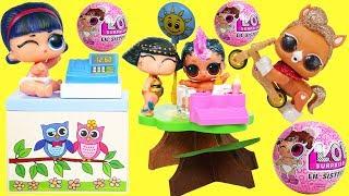 LOL Surprise Lil Sister Surprise Pets Series 4 Glitter with Barbie Pet Doctor