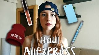 Haul ALIEXPRESS❤ | Kylielipstick, bañador, gorrito, chocker...!!