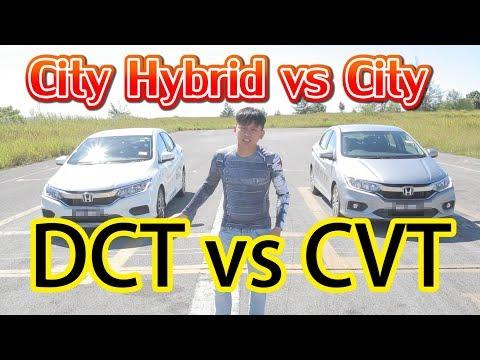 City Hybrid vs City,混合動力對壘傳統汽油,DCT vs CVT,本田1500cc最強原裝車對決! | 青菜汽車評論第118集