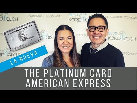 😮La NUEVA The Platinum Card American Express