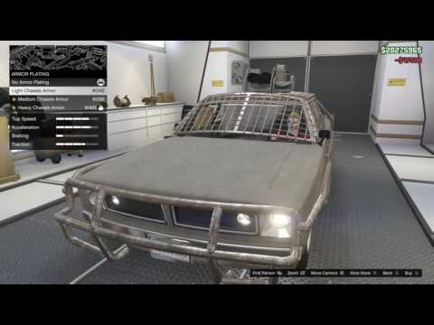 Grand Theft Auto V - GTA Online Gunrunning DLC Mobile Command Unit