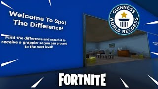 Spot the Difference Fortnite Creative Island (with code)