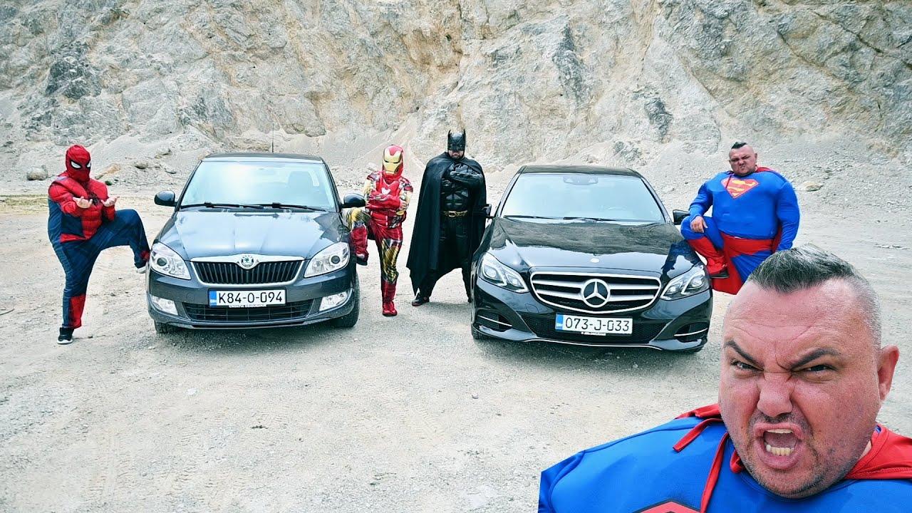 Superheroes Car Race for 100 000 $