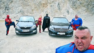 Superheroes Car Race for 100 000 $
