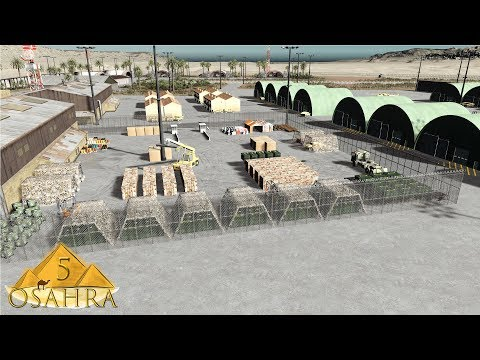Cities Skylines: Osahra - The Desert Military Base #5
