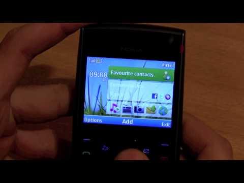 Nokia 108 muncul gambar headset (Handsfree Mode).