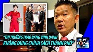 Nghị viên Tài Đỗ: Thị trưởng Trí Tạ trao bằng vinh danh không đúng chính sách TP