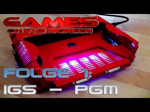 Games on the Screen - 1 -  IGS PGM