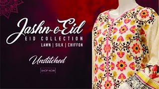 Junaid Jamshed Eid Collection 2017 - 2018 | Latest Designer Festive Collection Salwar Kameez Design