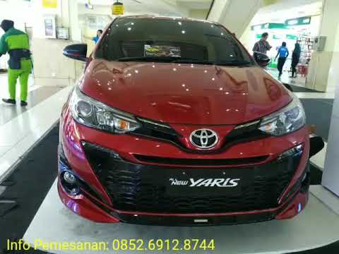 New Yaris Cvt Trd S Heykers Red Youtube