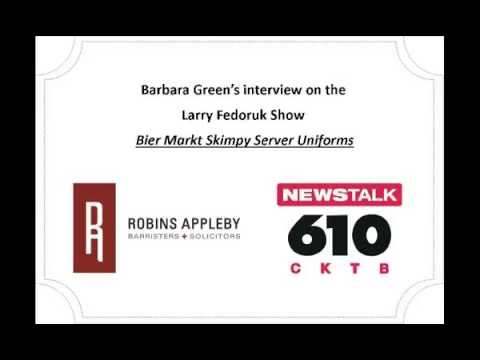 Barbara Green's Interview on the 610 CKTB