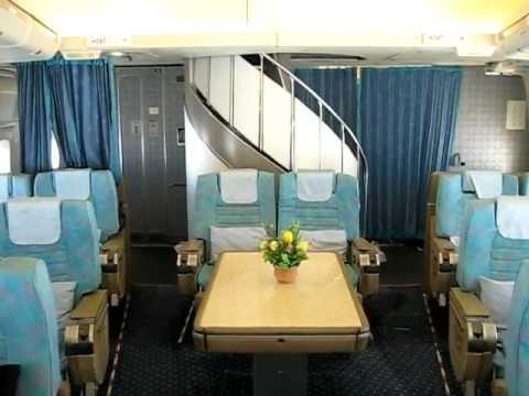 Iran Air B747SP In Flight  Window View  Homa Class