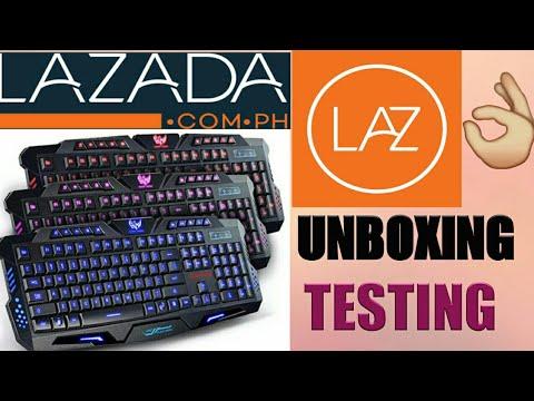 UNBOXING: AESOPCOM brand 200 USB Gaming Keyboard w/ 3 Color Backlight