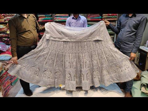 Latest Bridal Lehenga Showroom in Chandni Chowk | Partywear Designer Lehenga | Keshav Fashion