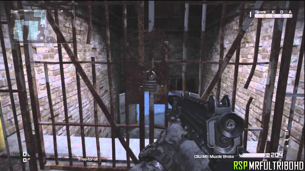 Open Secret Door On Map Freight Tutorial Call Of Duty Ghosts
