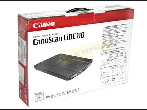 NEW DRIVERS: CANOSCAN LIDE 110 SCANNER