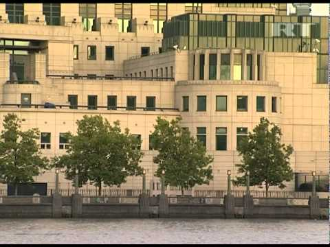 July 29, 2011 MI5 and MI6 buildings in London