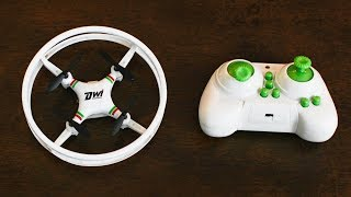 Circle Drone - It Rolls! It Flies! - Dwi Mini RC Quadcopter - TheRcSaylors