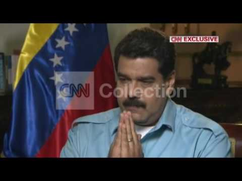 CNN EXCLUSIVE:AMANPOUR VENEZUELA MADURO OPPOSITION