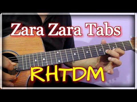 Zara Zara (RHTDM) - Easy Guitar Tabs Lesson