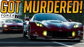 Forza 7 Murdered at Monza!