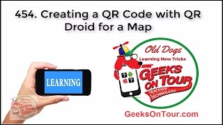How to create a QR Code with a Map?