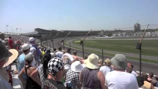 2012 インディ500のラスト5周(Takuma Sato chasing Dario Franchitti 96th Indy500 )