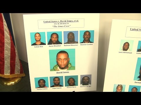 Gang Members Arrested on Gun and Drug Charges