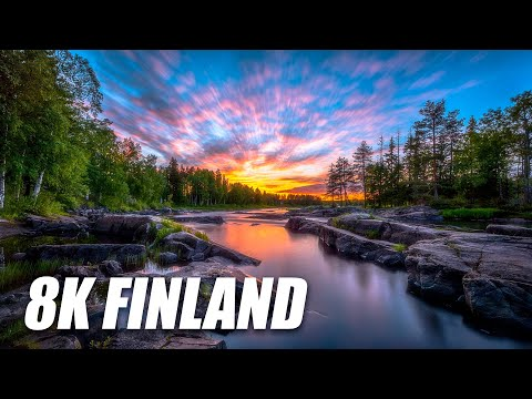 Finland in 8K HDR 60FPS DEMO