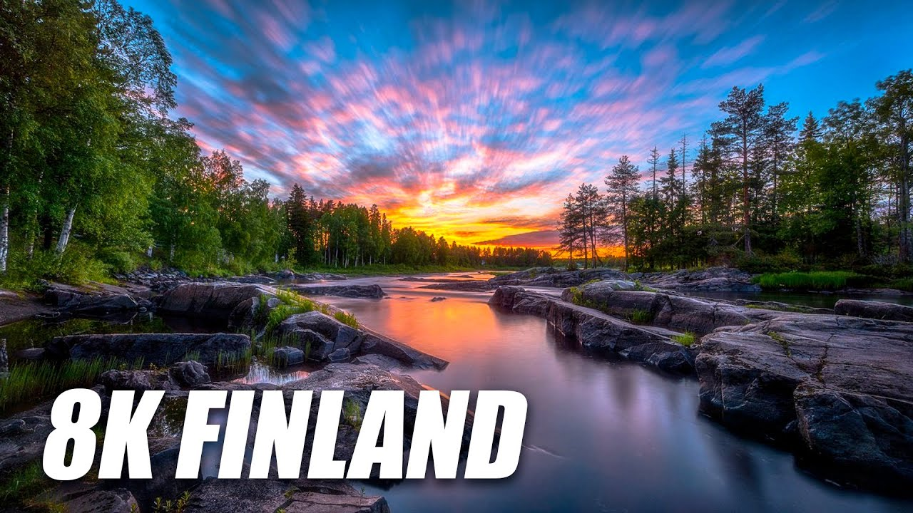 Finland in 8K HDR 60FPS DEMO