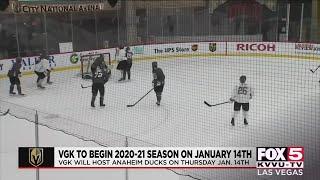 Golden Knights Release 2021 NHL Schedule