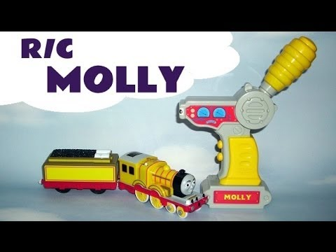 Trackmaster R/C MOLLY Thomas And Friends Remote Control Musical & Sounds Kids Toy Train