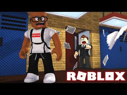 I'M DITCHING SCHOOL TODAY IN ROBLOX