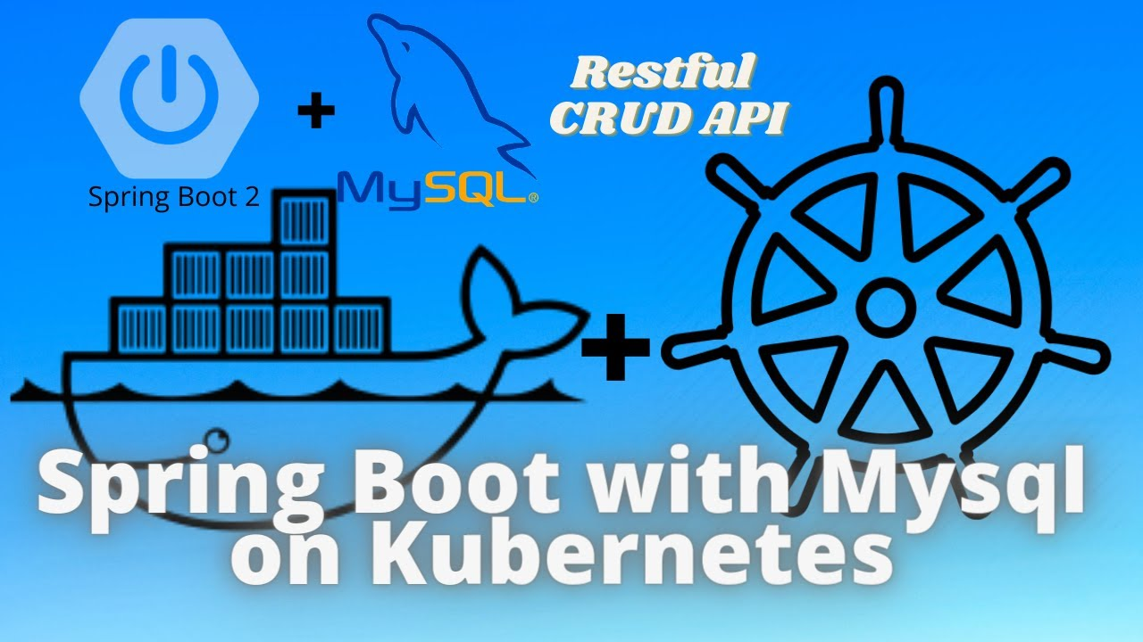 Building and deploying Spring Boot application with MySQL on Kubernetes cluster