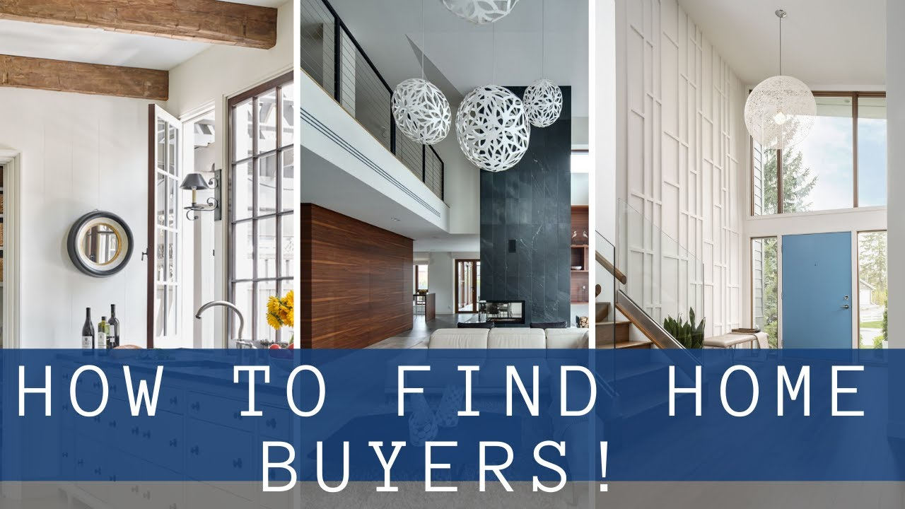 How to Find Home Buyers!