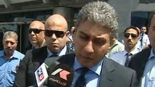 تصريحات وزير الطيران المدني عقب إختفاء طائرة مصر للطيران