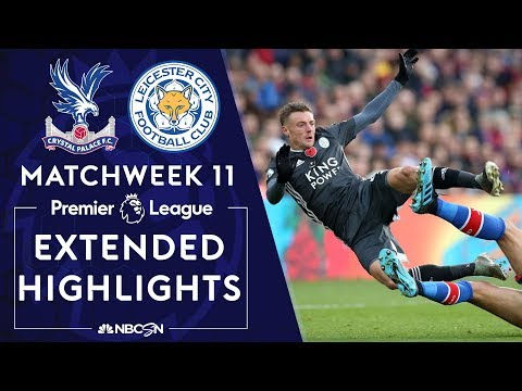 Crystal Palace v. Leicester City | PREMIER LEAGUE HIGHLIGHTS | 11/03/19 | NBC Sports