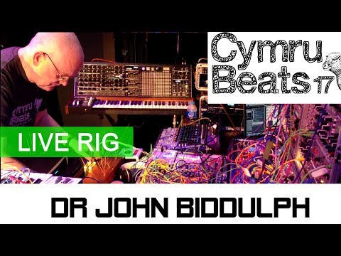 Dr John Biddulph Rig At Cymru Beats 2017