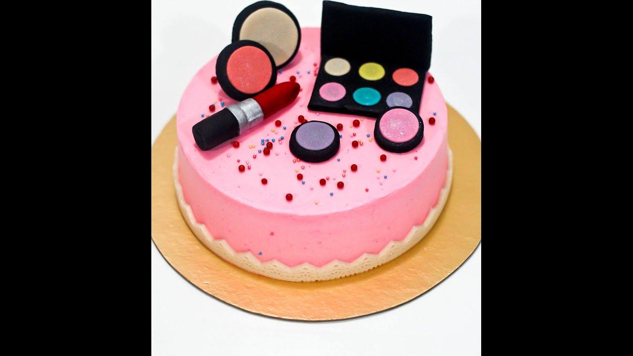 Simple Makeup Cake Ideas