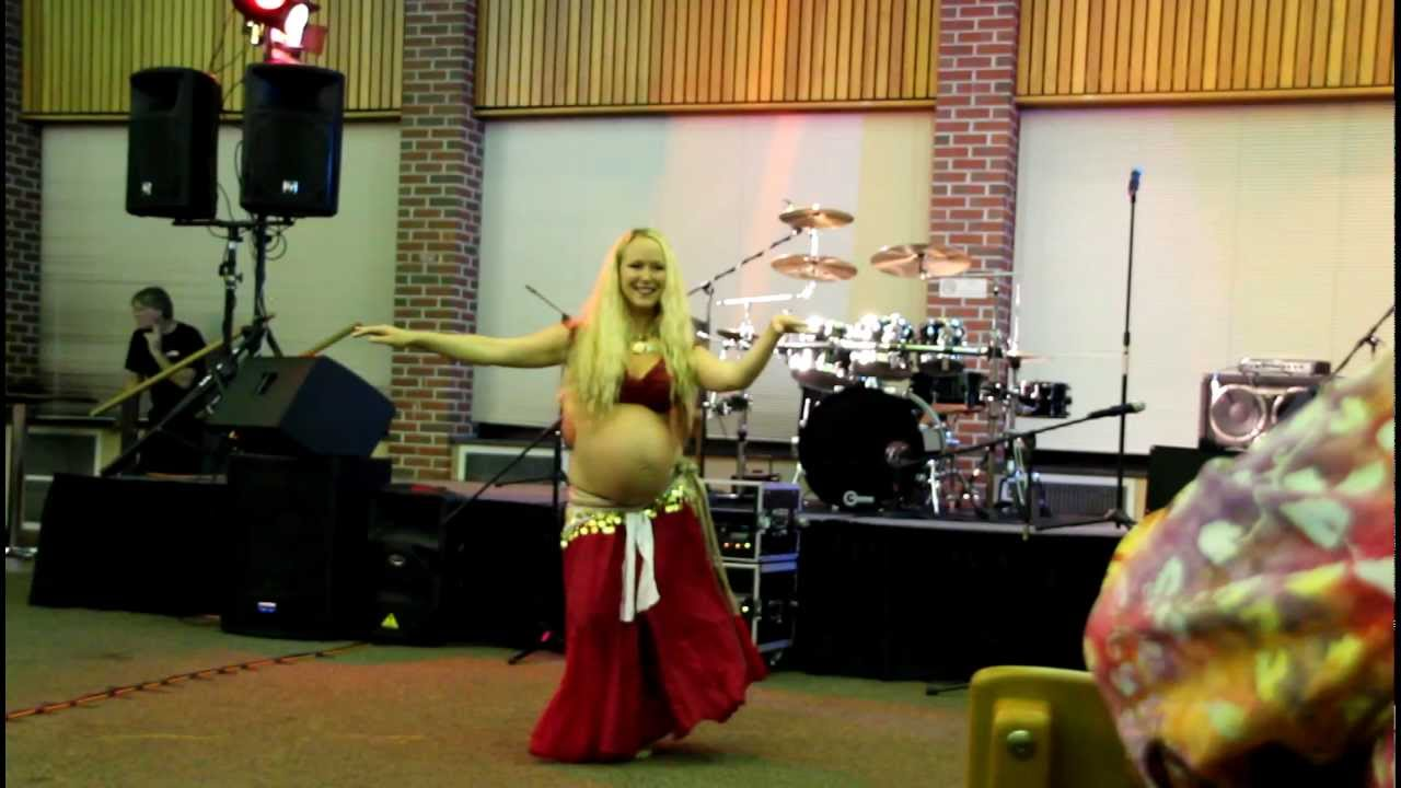 The Pregnant Belly Dancer Youtube - Baby Belly Dance Video