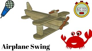 Kids Airplane Swing Plans
