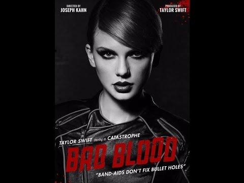 Bad Blood by Taylor Swift ft. Kendrick Lamar-  Lyrics Video