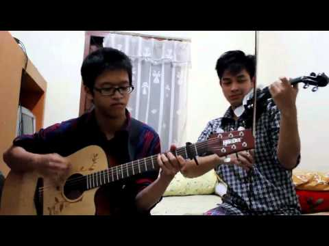 (Acoustic guitar & violin cover) Canon - Gilbert & Joshua